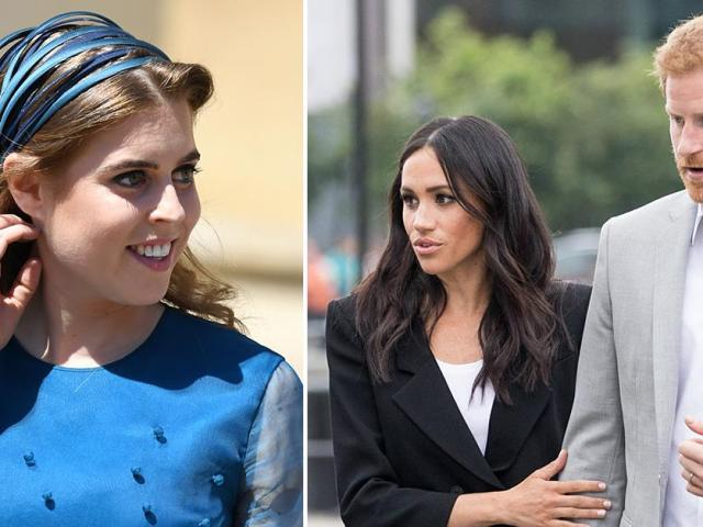Princess Beatrice Shows Off Baby Bump In First Outing Since Outshining Prince Harry & Meghan Markle's Third Wedding Anniversary