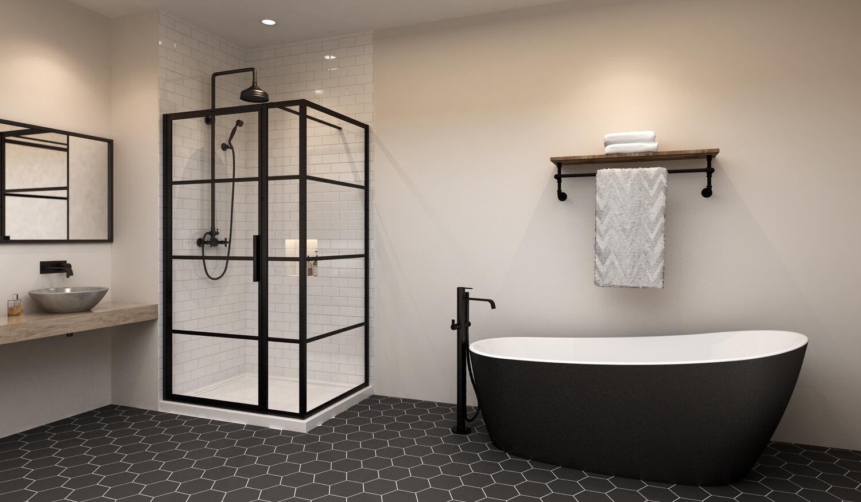 Shower Door Of Canada Inc Toronto Manufacturer And Installer Of Glass Sliding Shower Doors Shower Enclosures Glass Stair Railings And Plexiglas Shields