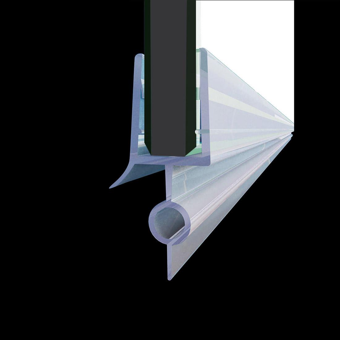 Details About Elegant Fit 1 4 Frameless Shower Door Sweep Bottom Seal Wipe Drip Rail 28