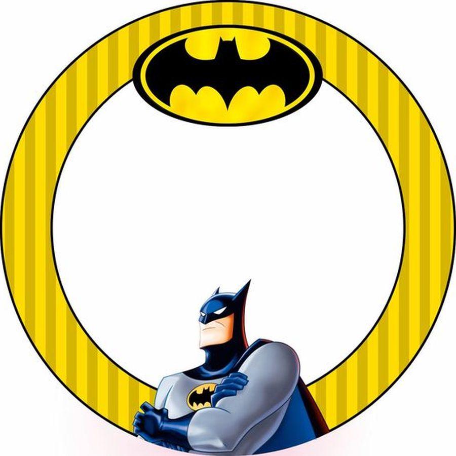 batman free printable invitation