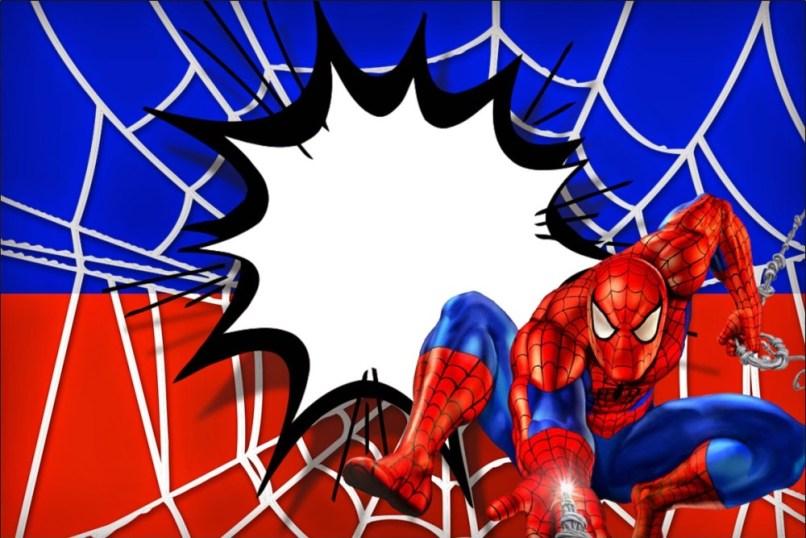 Free Printable Spiderman Birthday Invitation Templates ...