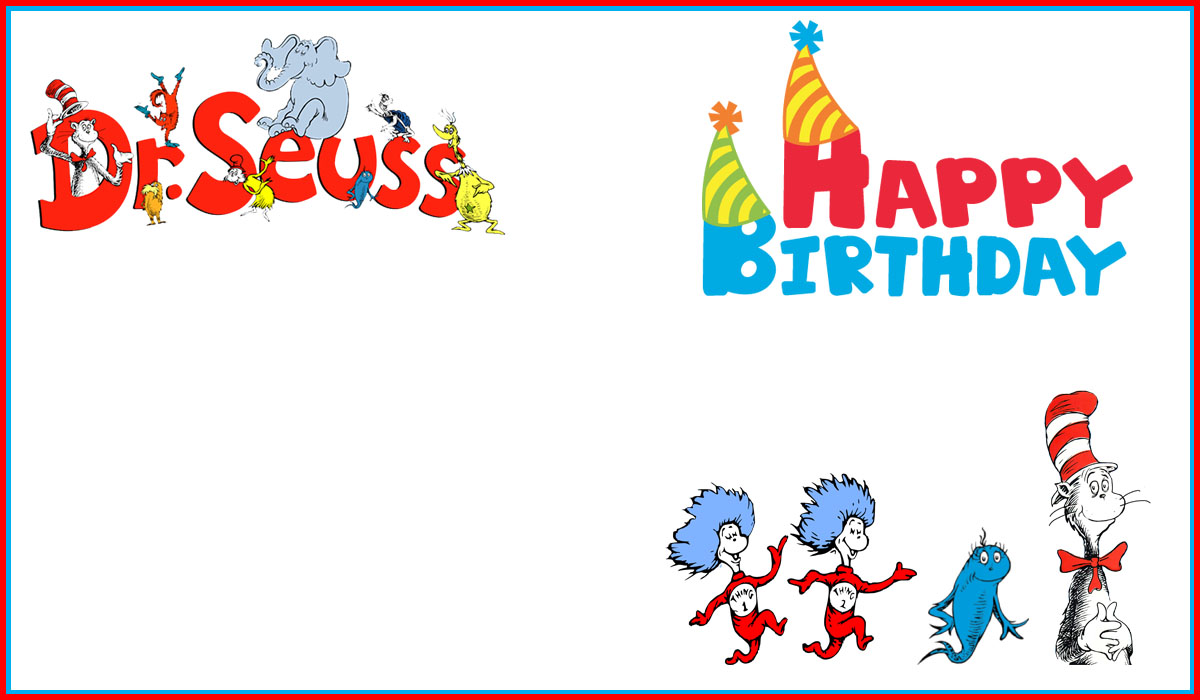 dr seuss free printable invitation