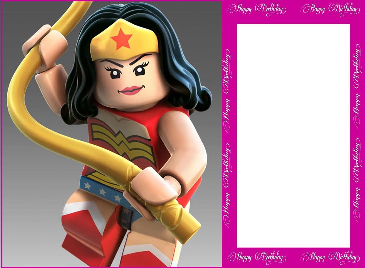 free printable lego invitation