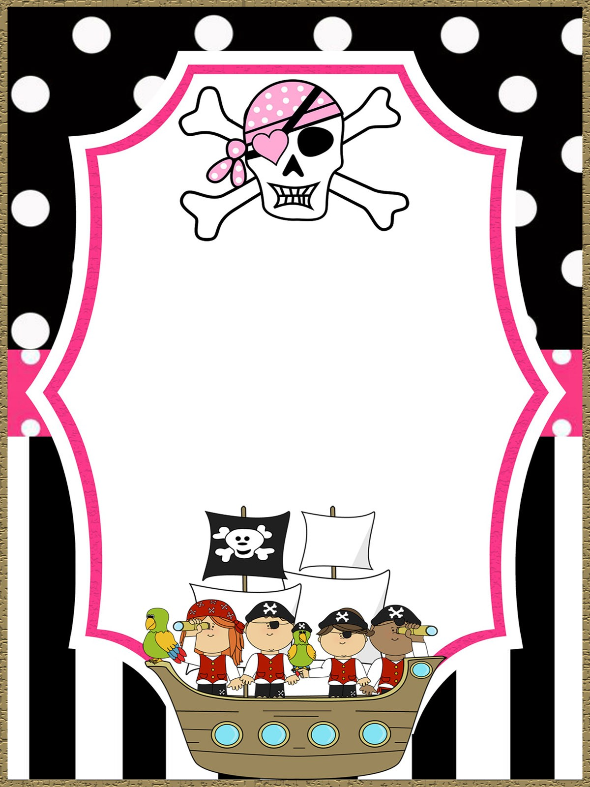 ideas to plan a pirate party
