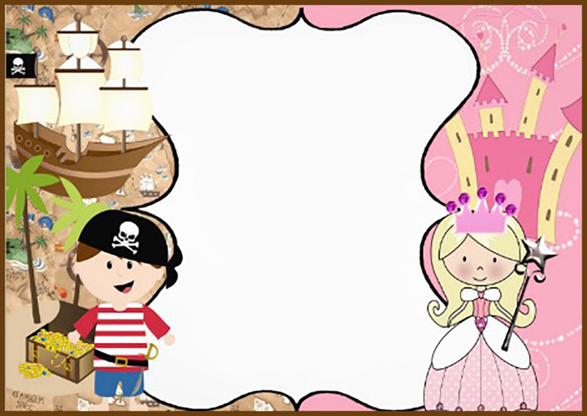 pirate and princess birthday party