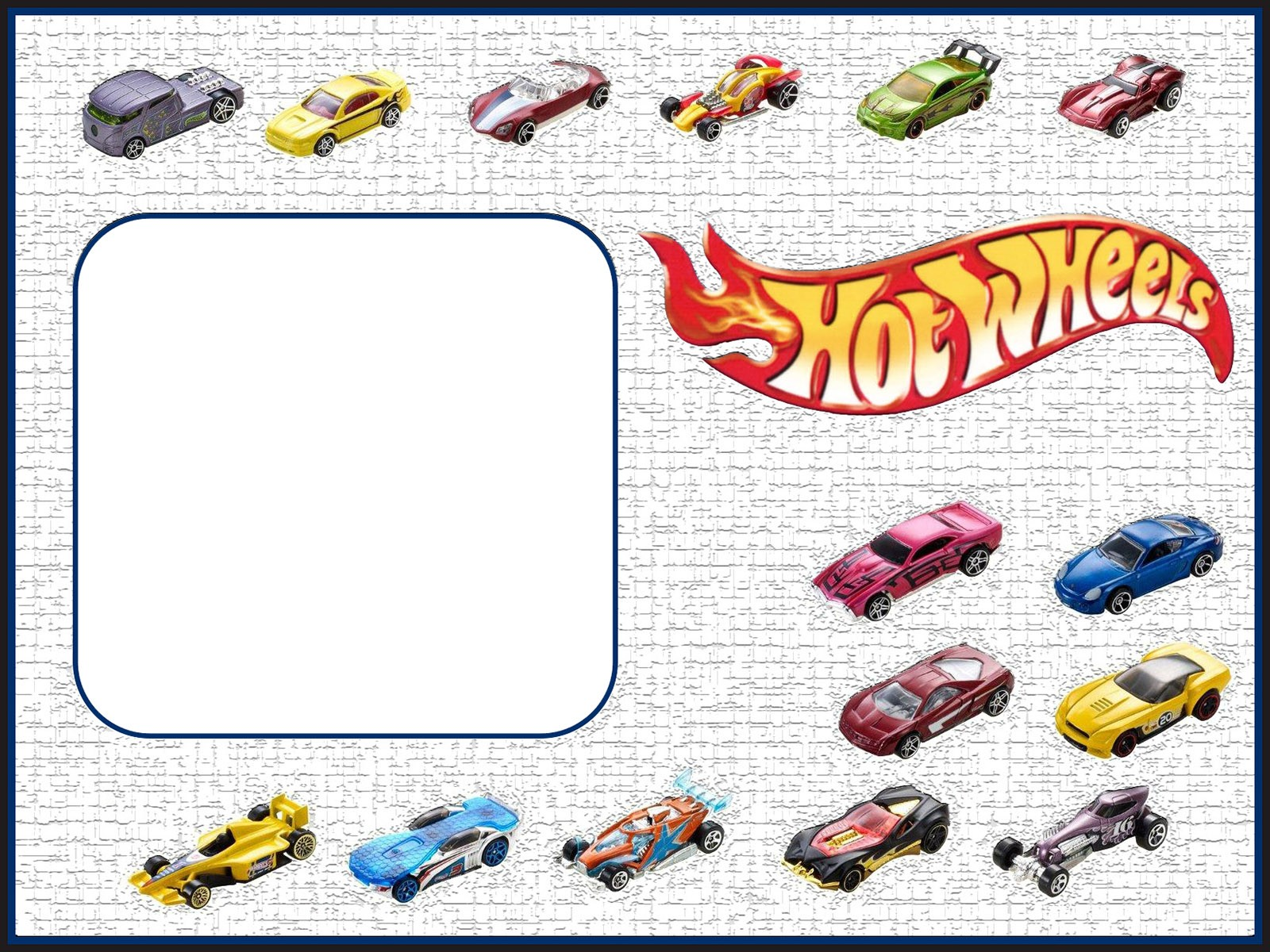 free printable hot wheels invitation