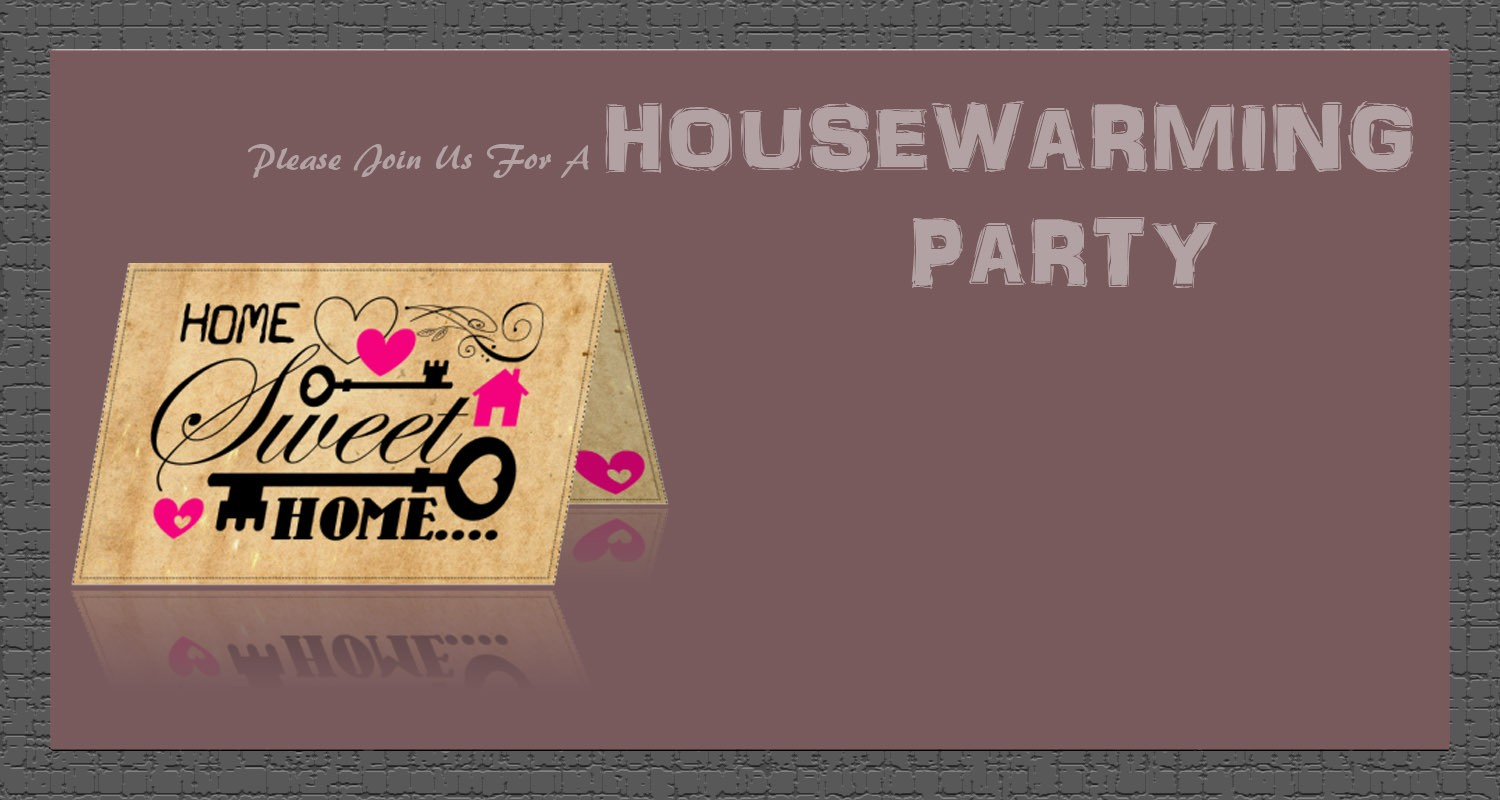 Housewarming Invitations A Quick How To Do It Tour