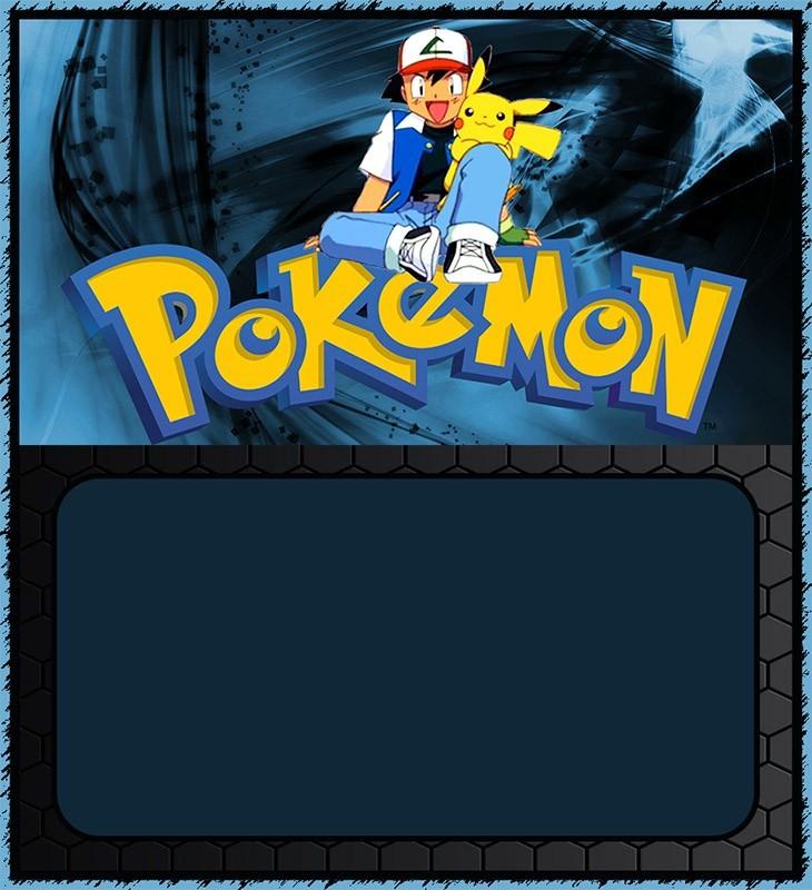 pokemon birthday party invitation card