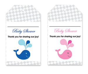 image about Free Printable Baby Shower Thank You Tags identify Cost-free Printable Thank By yourself Tags For Boy or girl Shower Favors Why