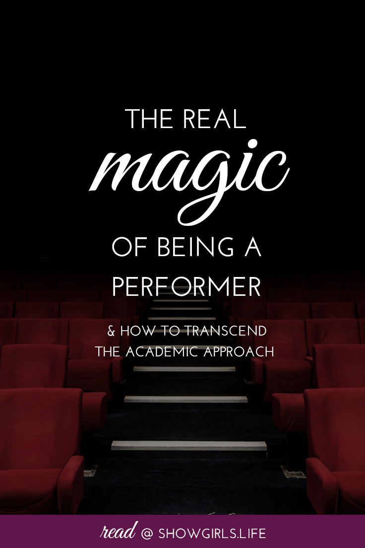 Showgirls.Life - The Real Magic of Being a Performer Read Blog