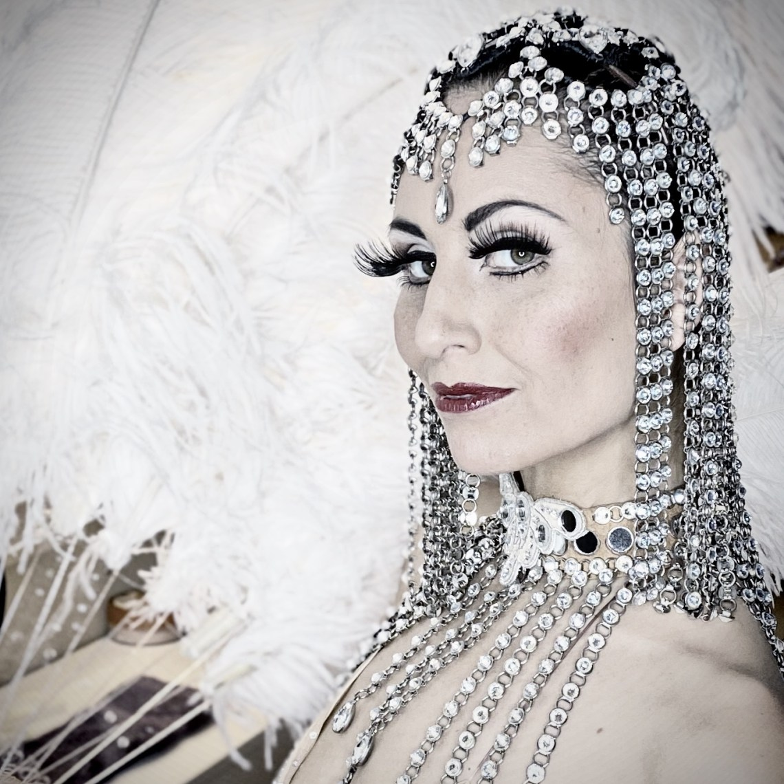 Showgirl's Life | Where Vintage Vegas Glamour Meets Immersive Experiences | Preserving the history and Art of the Showgirl | Athena, aka Gazella
