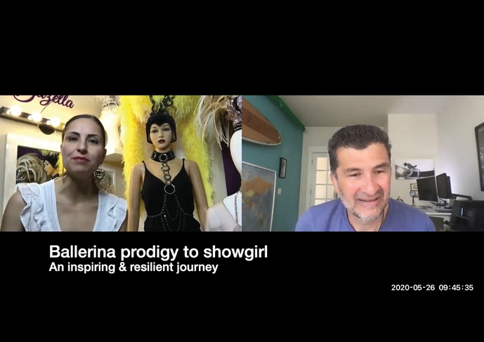 Showgirl's Life | Where Vintage Vegas Glamour Meets Immersive Experiences | Preserving the history and Art of the Showgirl | Athena, aka Gazella featured on Monday Motivation