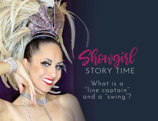 Showgirls Life | Showgirl Story Time starring Athena Patacsil answering the question, what is a line captain?