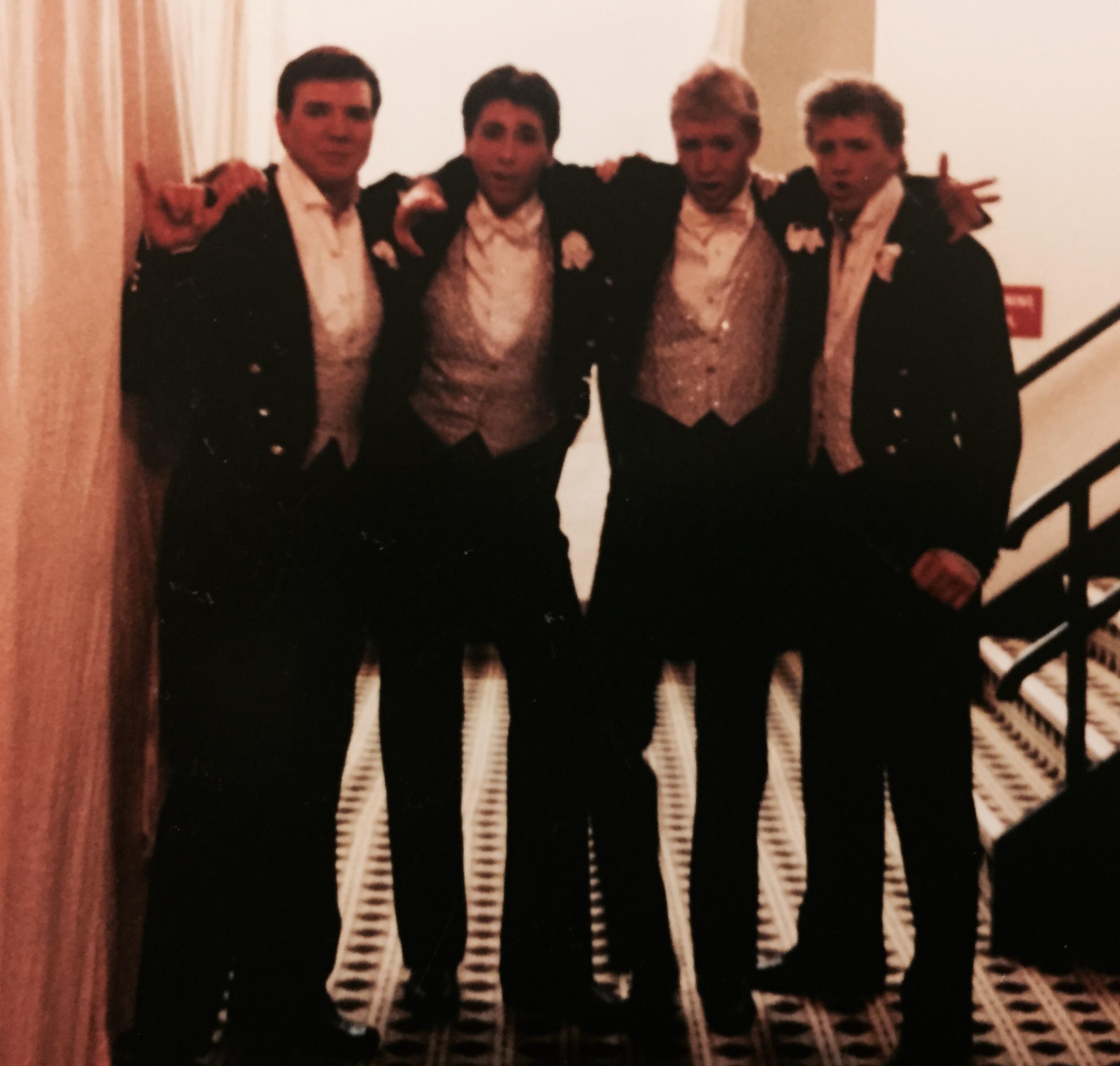 male singers in showgirl production Jubilee!