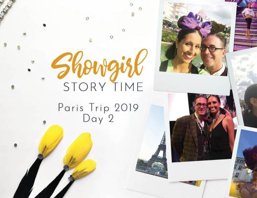 Showgirls Life   Showgirl Story Time starring Athena Patacsil Bluebells Forever Reunion Paris 2019 Day 2