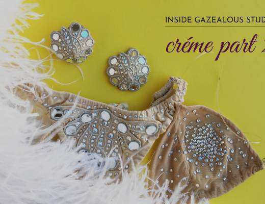 Showgirl's Life | Inside Gazealous Studio Créme Showgirl act costumes introduction and part 2