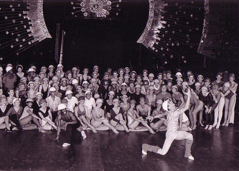 Donn Arden's Jubilee! Opening cast photo 1981