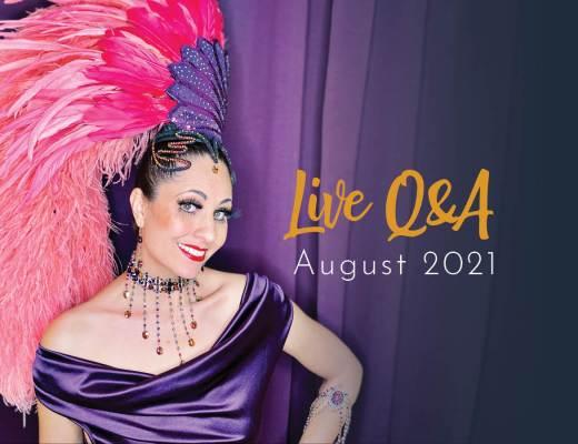 Showgirls Life | Members Live Q&A August 2021