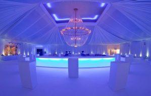 iluminacion espectacular boda en Malta