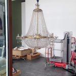 Restauración de lámparas de Cristal