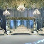 wedding flower ceiling