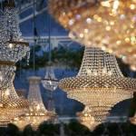 Iluminacion para bodas de lujo