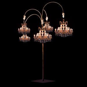 Estructura Arbol para lamparas para bodas de showlight