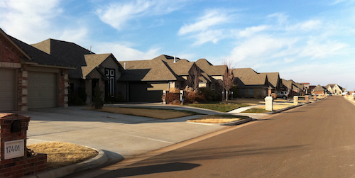 Homes in Silverhawk addition of Edmond Oklahoma