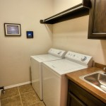 Standalone utility room