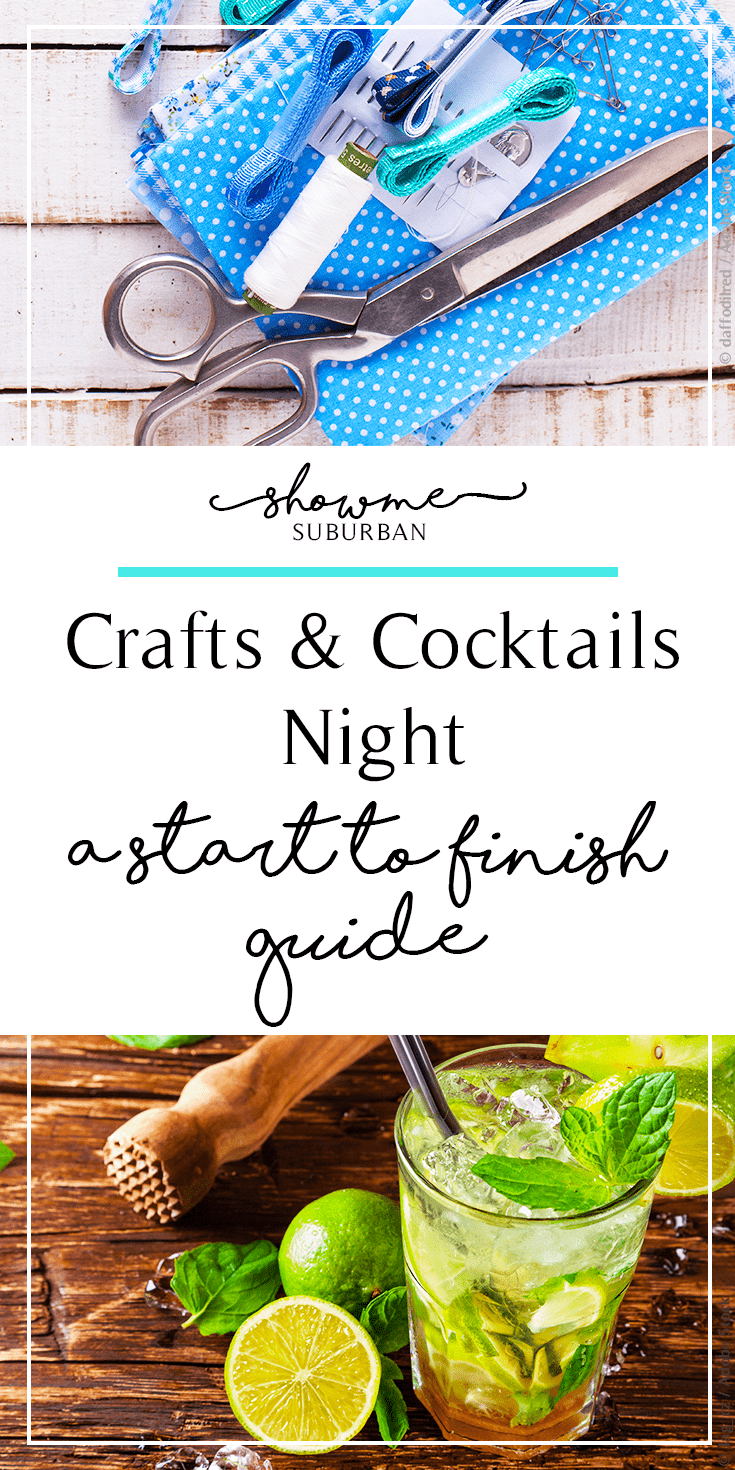 Take girls night to the next level by hosting a craft night and serving some fun cocktails using this start-to-finish guide!  Learn which people to invite, find craft project ideas, and discover easy appetizers to serve!
