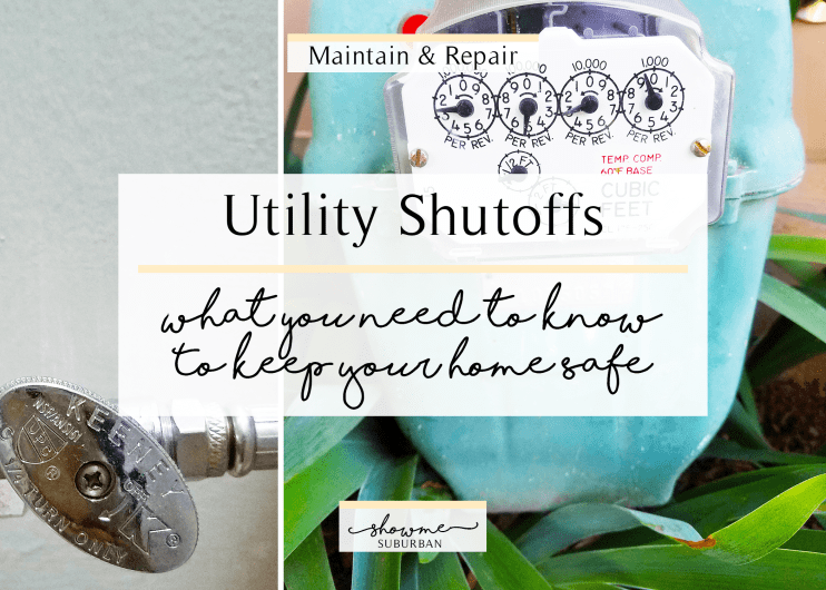 ShowMe Suburban | Utility Shutoffs: What you need to know