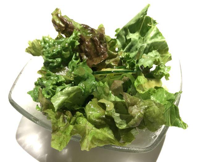 bonboriのランチのサラダ