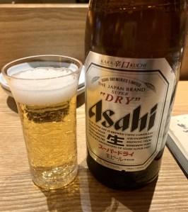 渋谷(神泉)にある「二代目 葵」の瓶ビール