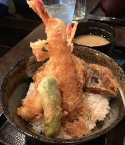 渋谷の道玄坂にある「権八」の天丼