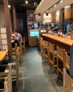 カレーうどん専門店「千吉(せんきち)」渋谷道玄坂店の内観
