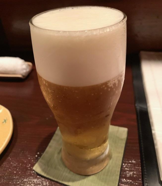 渋谷「うのさと」のビール