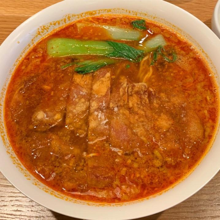 「Renge no Gotoku」の排骨担々麺