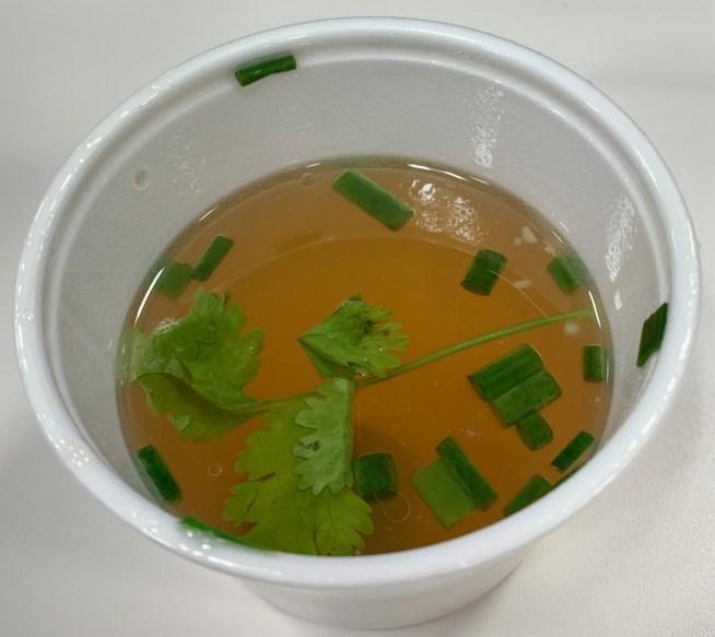 渋谷「タイ料理研究所」のスープ