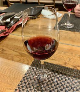 中目黒のイタリアン「ビストロK」の赤ワイン