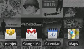 Album Art Live Wallpaper para celulares Android 8