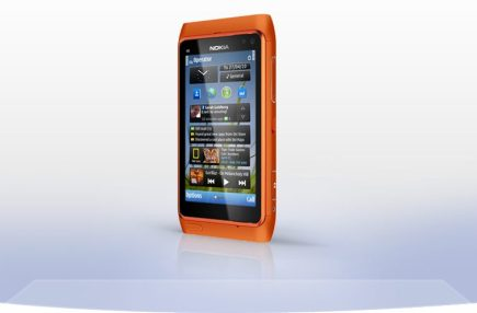 Nokia n8 right perspective orange 755x497