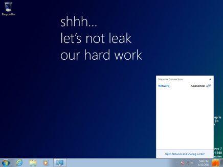 windows 8 milestone 1 build 7850 5 - Versão prévia do Windows 8 vaza na internet
