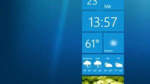 Metro Weather: widget com relógio e previsão do tempo para o PC 7