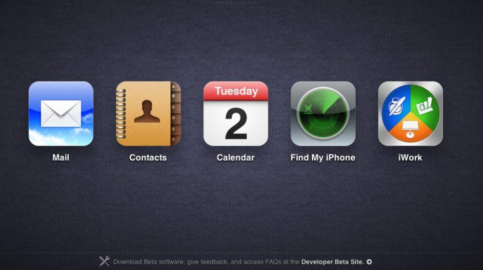 CapturFiles - iCloud.com entra no ar com interface muito parecida com o iOS