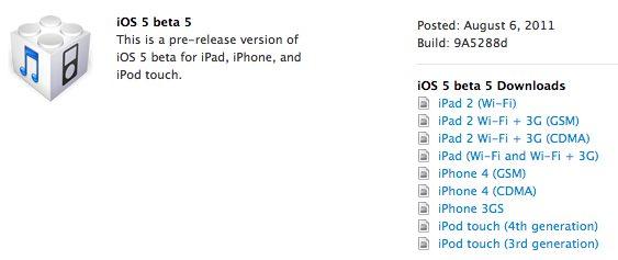 screen shot 2011 08 06 at 2 39 07 pm - Apple divulga quinto beta do iOS 5 para desenvolvedores