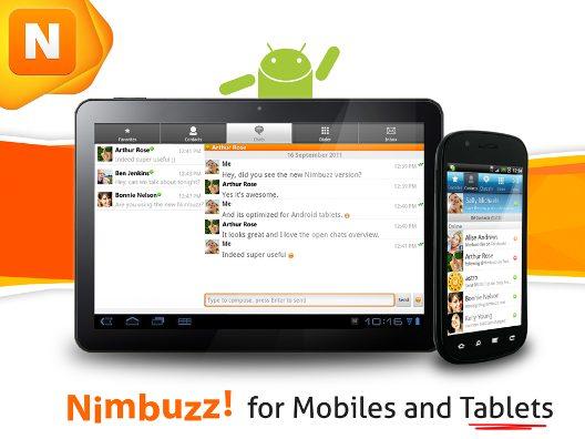 Nimbuzz for Mobiles and Tablets 1 - Nimbuzz Messenger lança versão para tablets, iPhones e PCs