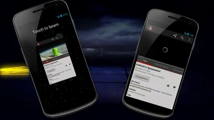 Android Beam 818x460 - Tutorial: como usar o Android Beam (NFC)