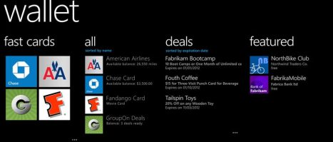 Wallet gallery post - Windows Phone 8: tudo o que você precisa saber
