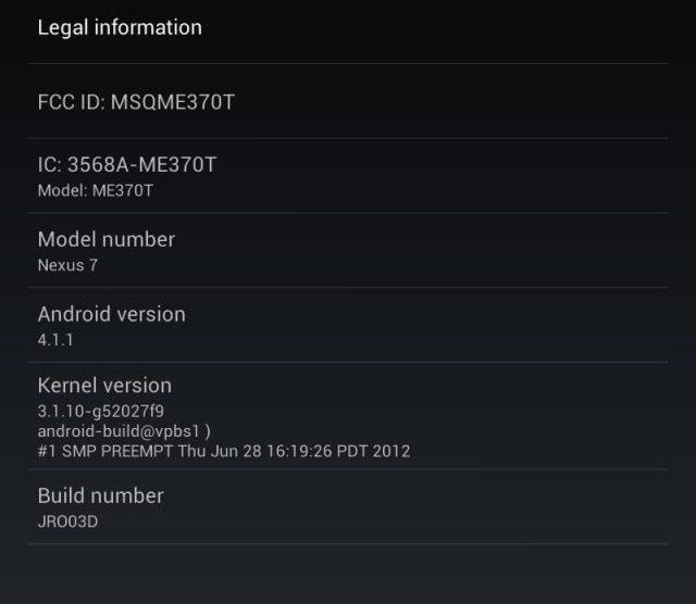 Review: Tablet Asus Google Nexus 7  7