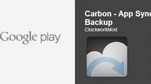 Carbon Backup Google Play